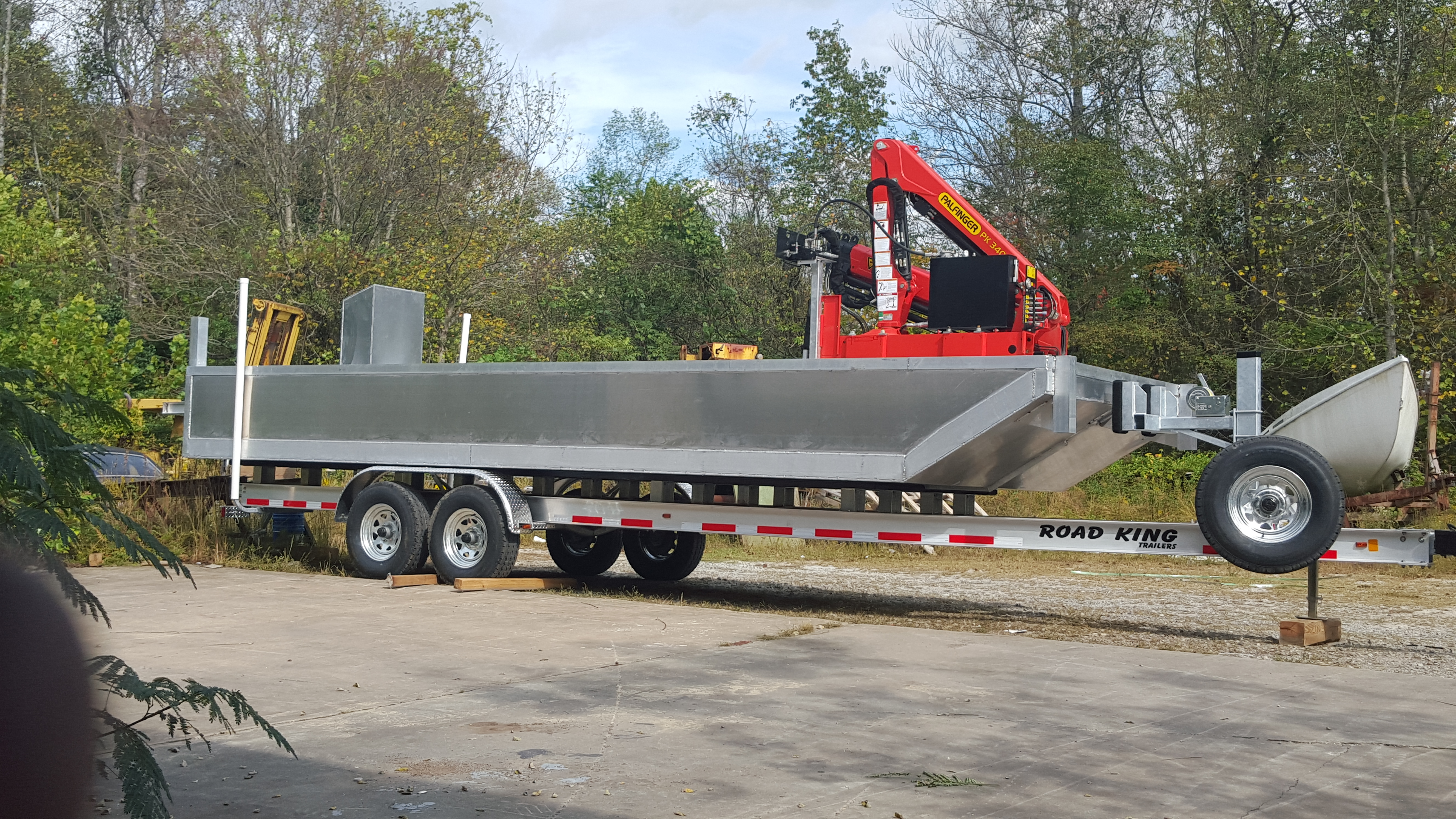 Small Work Barge For Sale | Custom Barges | Aluminum Barges