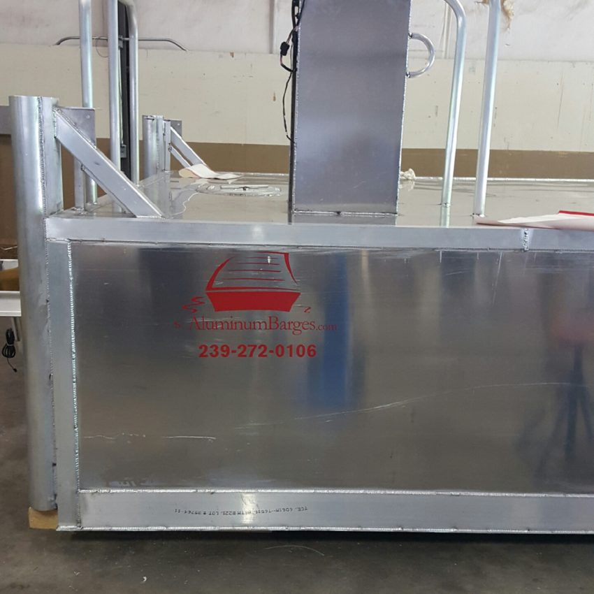 Custom Built Barges For Sale | Small Work Barges ...