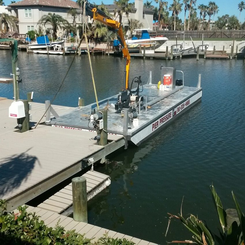 Custom Built Barges For Sale | Small Work Barges | Aluminum